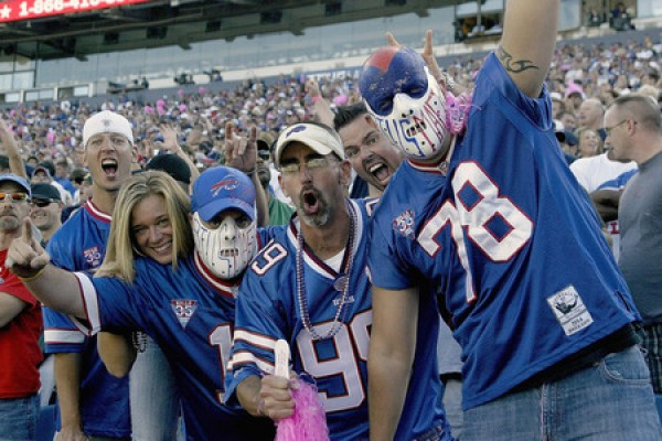 Bills crowd