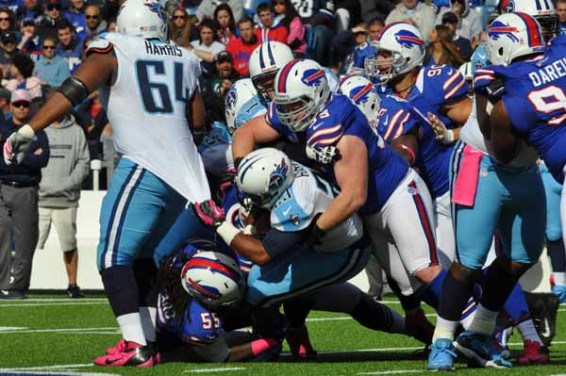 Bills lose to titans