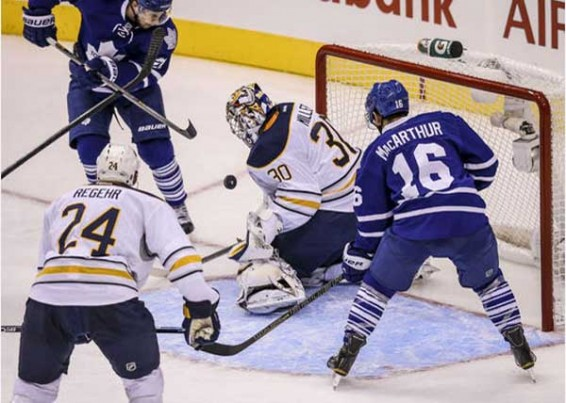 Sabres down Leafs