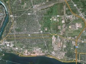 Niagara Falls roadways
